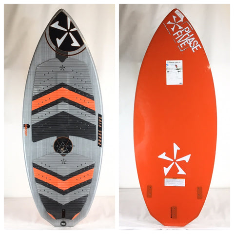 2018 Phase Five Diamond LTD DEMO Wake Skimboard 54""