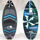 2020 Phase Five Leeo BLEM Wake Skimboard 54""