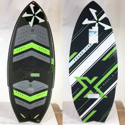 Phase Five Model X BLEM Wake Skimboard 53""