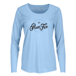 Phase Five Ladies Script SPF Long Sleeve