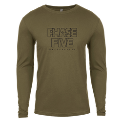Phase Five Outline Long Sleeve Tee