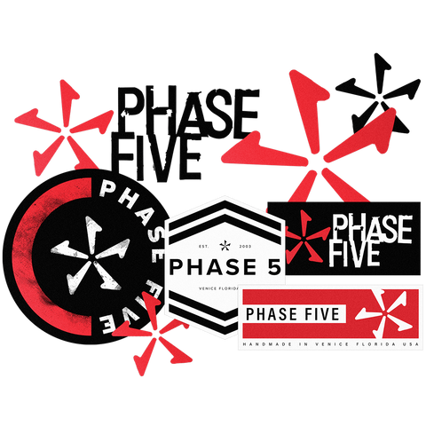 Phase Five Sticker Pack