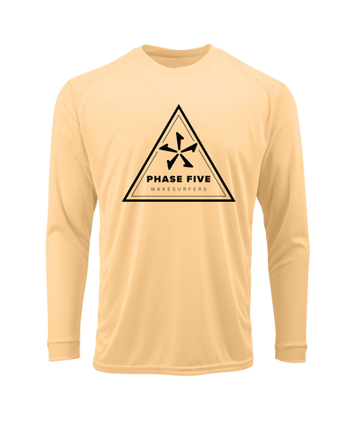 Phase Five Mens Emblem SPF Long Sleeve Shirt