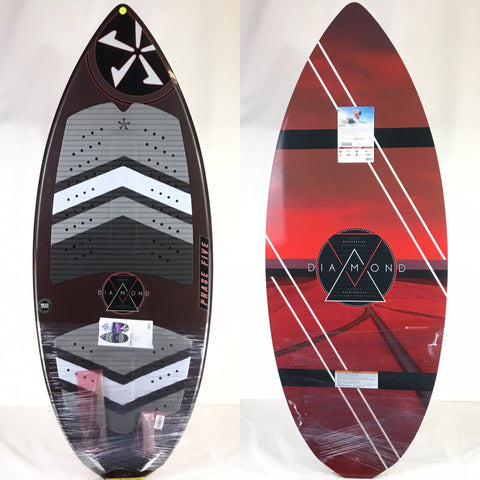 Phase Five 2018 Diamond BLEM Wake Skimboard 54""
