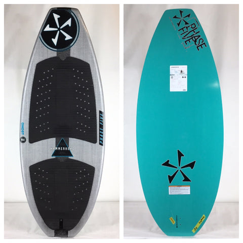 2019 Phase Five Hammerhead LTD DEMO Wake Skimboard 55""