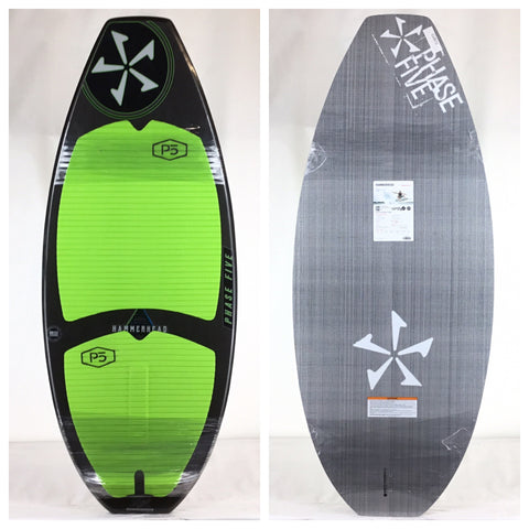 Phase Five One Off + Custom Hammerhead Wake Skimboard 53""
