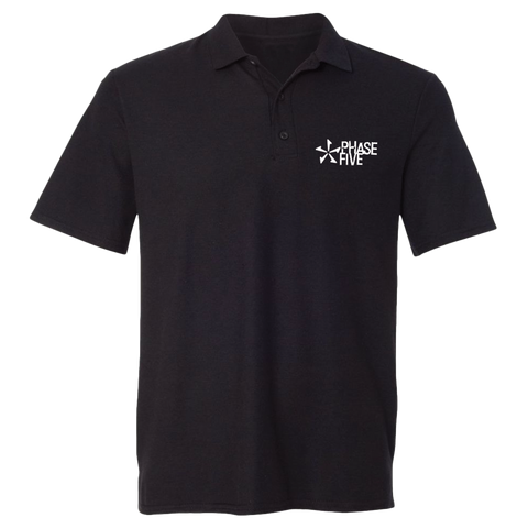 Phase Five Classic Logo Polo