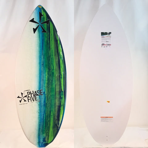 Phase Five Diamond CL BLEM Wake Skimboard 57""