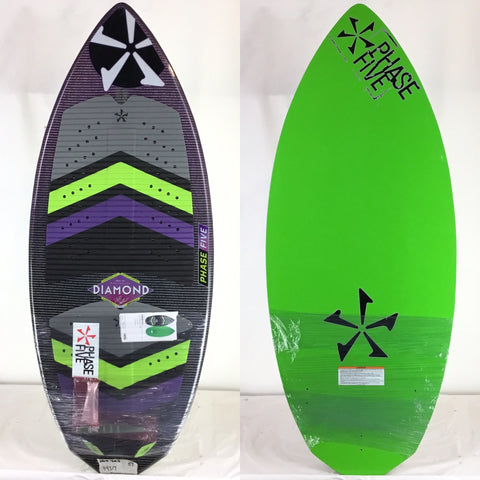 Phase Five One Off Limited Edition Diamond Prototype Wake Skimboard 51""