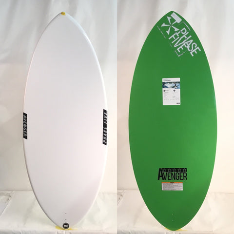 Phase Five 2018 Avenger BLEM Wake Skimboard 51""