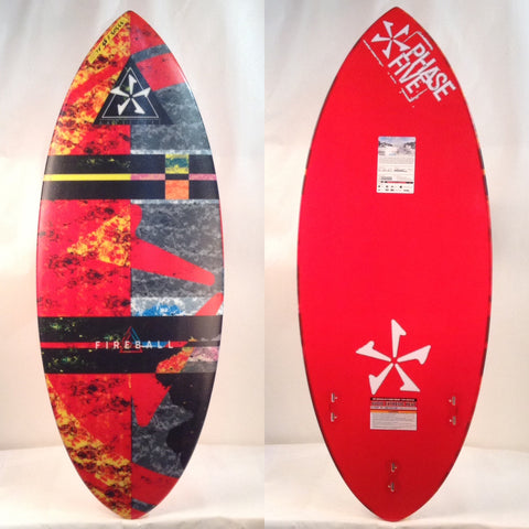 *Special size* Phase Five 2018 Fireball Hybrid Wake Surfboard