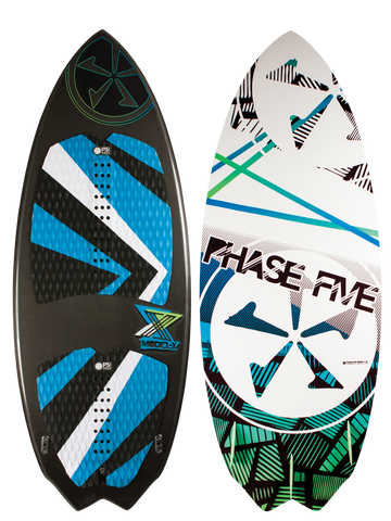 Phase Five Model X 2016 BLEM Wake Skimboard