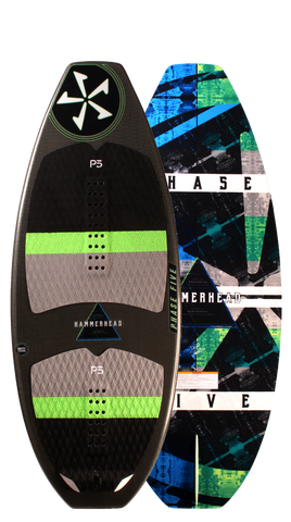 Phase Five 2018 Hammerhead Wake Skimboard