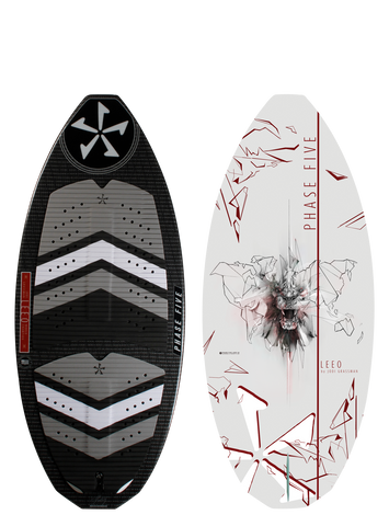 2019 Phase Five Leeo Wake Skimboard