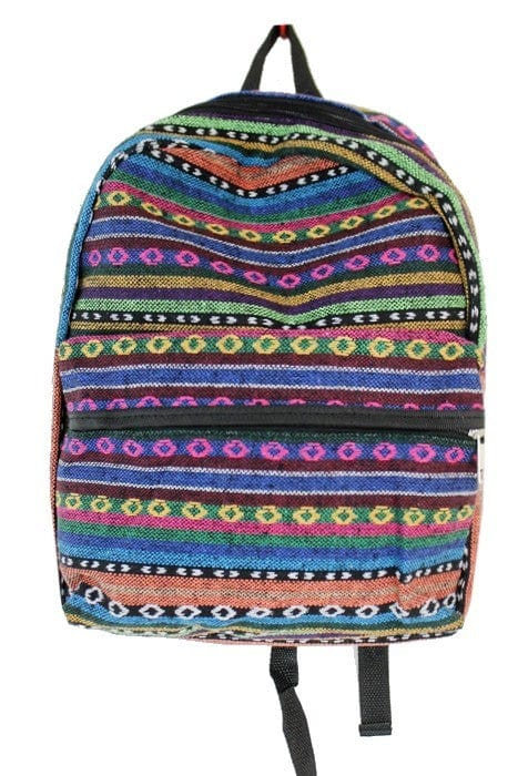 Aztec Print Dome Backpack
