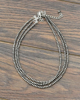 "18"" Long!  Tiny 4mm Navajo Pearl Necklace"