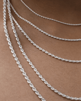 925 s-silver rope chain