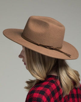 Trendy Fine wool Panama Hat