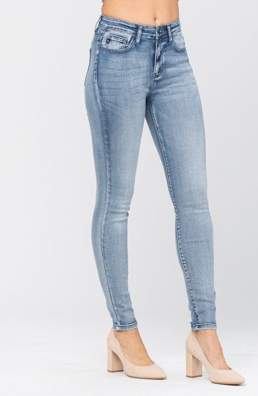 High rise heavy sand skinny