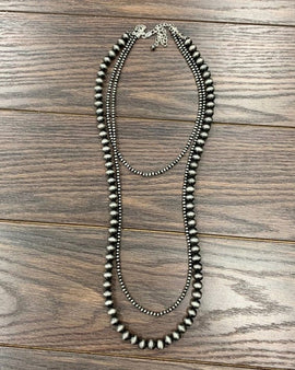 "30"" Long, Navajo Pearl Necklace"