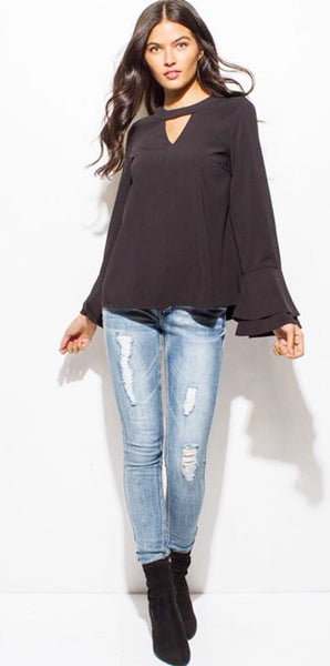 BLACK TOP LONG SLEEVE