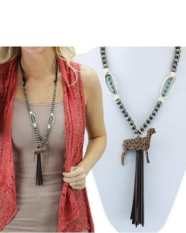Sheep Tassel Necklace