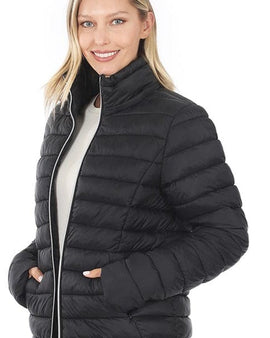Removable Hood Puffer Jacket