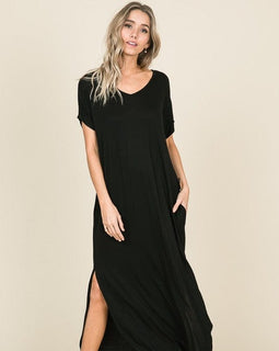 Relaxed Fit Maxi Dress