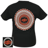 OSU MANDALA BLACK SHORT SLEEVE