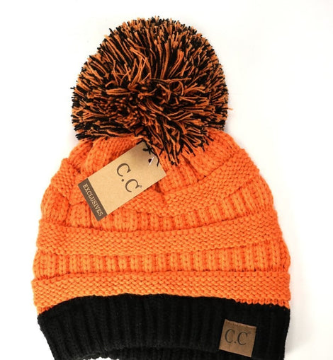 GAME DAY CC BEANIES ORANGE / BLACK