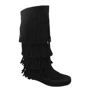 offer discounts size 7 aliexpress Mudd-55 Women's Fringe Boots