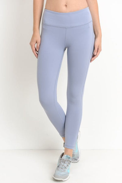 Criss-Cross Back Accent Leggings (AP1497)