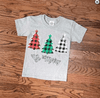 BE MERRY PLAID CHRISTMAS TREES *YOUTH*