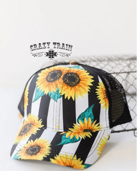 Bees Knees Sunflower Cap
