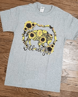 Sunflower Buffalo Tshirt