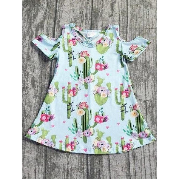 Little Girls Cactus Dress