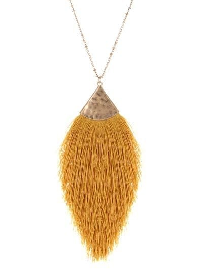 "30"" LONG, TASSEL NECKLACE MST"