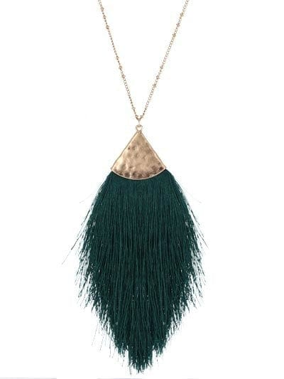 "30"" LONG, TASSEL NECKLACE TL"