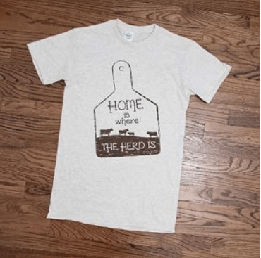 Home is Where the Herd is Tee