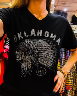 Okie Oklahoma Chief t-shirt