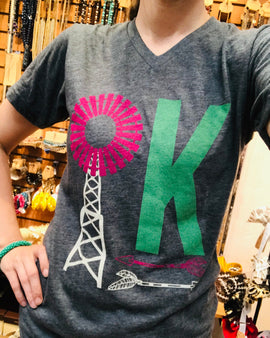 OKLAHOMA WINDMILL T-SHIRT