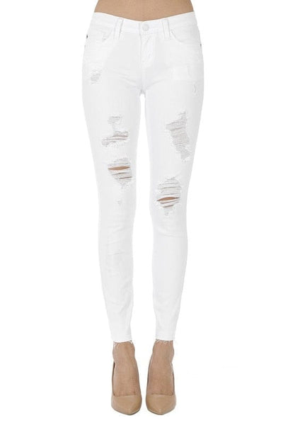 Distressed Judy Blue Skinny Jean