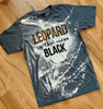 Leopard is the New Black with Bleach Detail T-Shirts