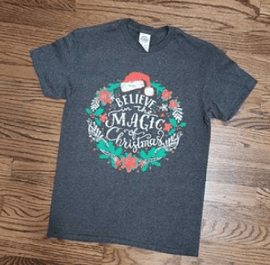 Believe in the Magic of Christmas Tee