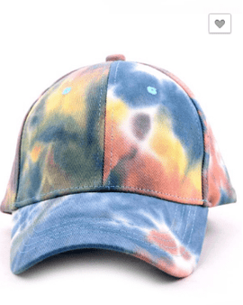 Tie-Dye Base Ball Caps
