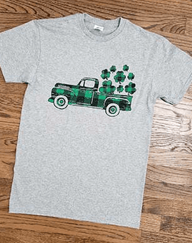 St. Patricks truck t-shirt