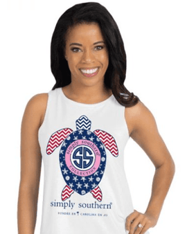 Simply Southern Preppy Turtle Tank