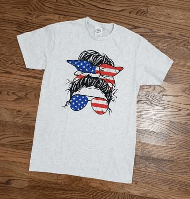 Usa mom t-shirt