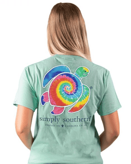 Simply southern Tie-Dye Save the Turtles Tee