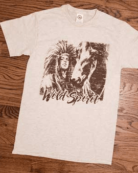 Wild spirit native t-shirt